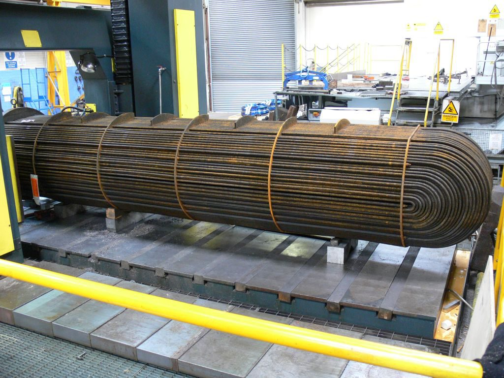 Heat exchanger tubestack
